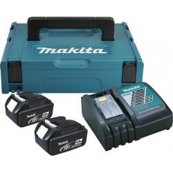 Makita 196866-5 Комплект батерии и зарядно 18V