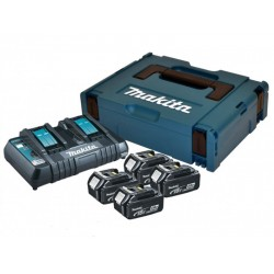 Makita 197156-9 Комплект батерии и зарядно 18V