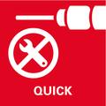 Quick система за бърза смяна на инструмента